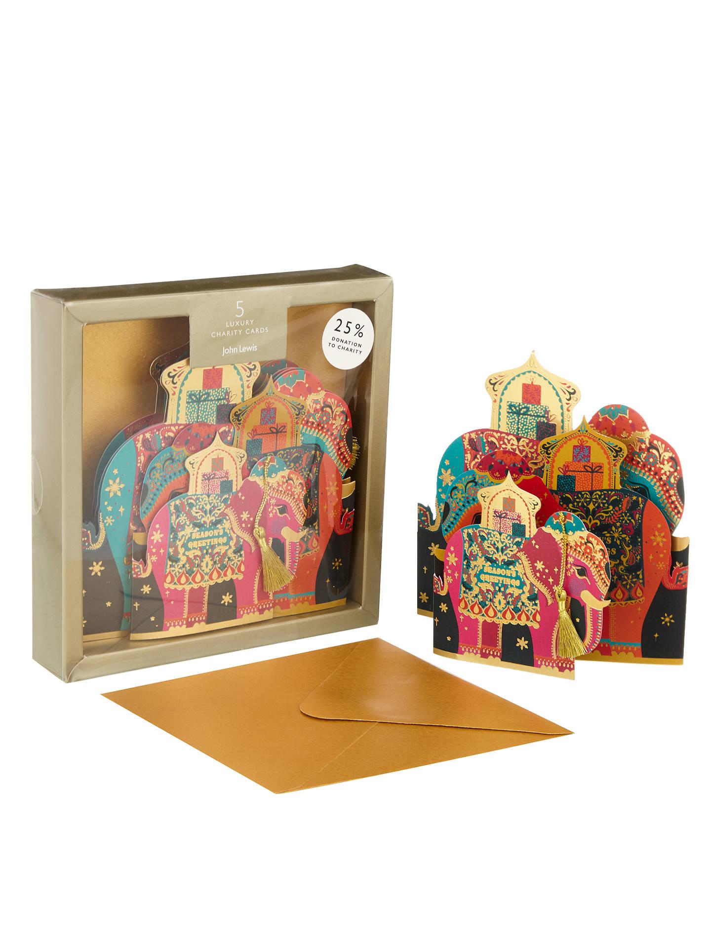 John Lewis Tale of the Maharaja Elephant Family Charity Christmas ...