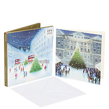 Buy John Lewis London at Night Charity Christmas Card, Pack of 10 Online at johnlewis.com