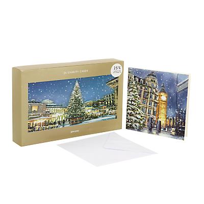 John Lewis London Bumper Charity Christmas Card, Pack of 25