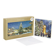 Buy John Lewis London Bumper Charity Christmas Card, Pack of 25 Online at johnlewis.com