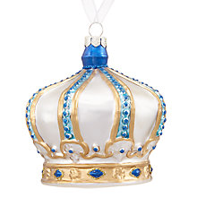 Buy John Lewis Winter Palace Crown Bauble Online at johnlewis.com