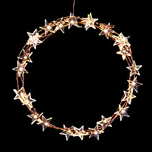 Buy John Lewis 60 LED Star Christmas Lights Online at johnlewis.com