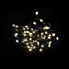 Buy John Lewis 60 LED Christmas Lights, Pure White Online at johnlewis.com