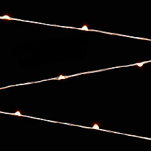 Buy John Lewis 320 LED Christmas Lights, Pure White, 26m Online at johnlewis.com