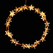 Buy John Lewis 60 LED Star Christmas Lights, Multi Online at johnlewis.com