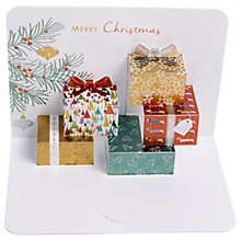 Buy Art File Luxury Hand Folded Metallic Parcels Christmas Cards, Pack of 5 Online at johnlewis.com
