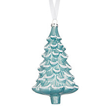 Buy John Lewis Folklore Glitter Edged Tree Bauble Online at johnlewis.com