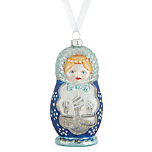 Buy John Lewis Winter Palace Babushka Bauble Online at johnlewis.com
