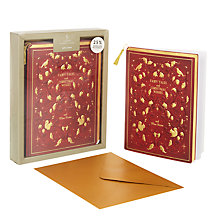Buy John Lewis Christmas Fairytale Book Charity Christmas Card, Pack of 5 Online at johnlewis.com
