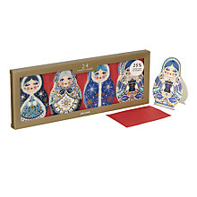 Buy John Lewis Winter Palace Baboushka Mini Charity Christmas Card, Pack of 24 Online at johnlewis.com