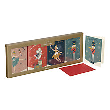 Buy John Lewis Nutcracker Mini Charity Christmas Card, Pack of 24 Online at johnlewis.com