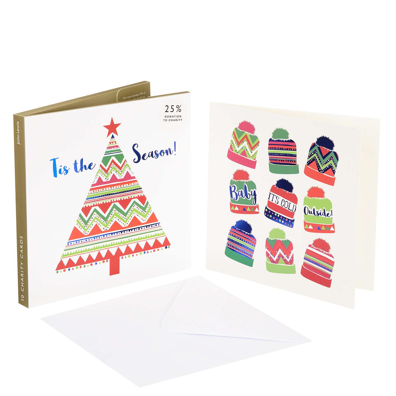Buyjohn Lewis Lima Llama Bobble Hats And Tree Charity Christmas