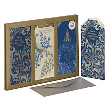 Buy John Lewis Winter Palace Triple Slim Scene Charity Christmas Cards, Pack of 24 Online at johnlewis.com