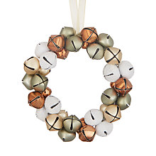 Buy John Lewis Highland Myths Bell Wreath Tree Decoration Online at johnlewis.com