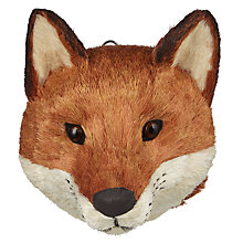 Buy John Lewis Into the Woods Fox Head Hanging Decoration Online at johnlewis.com