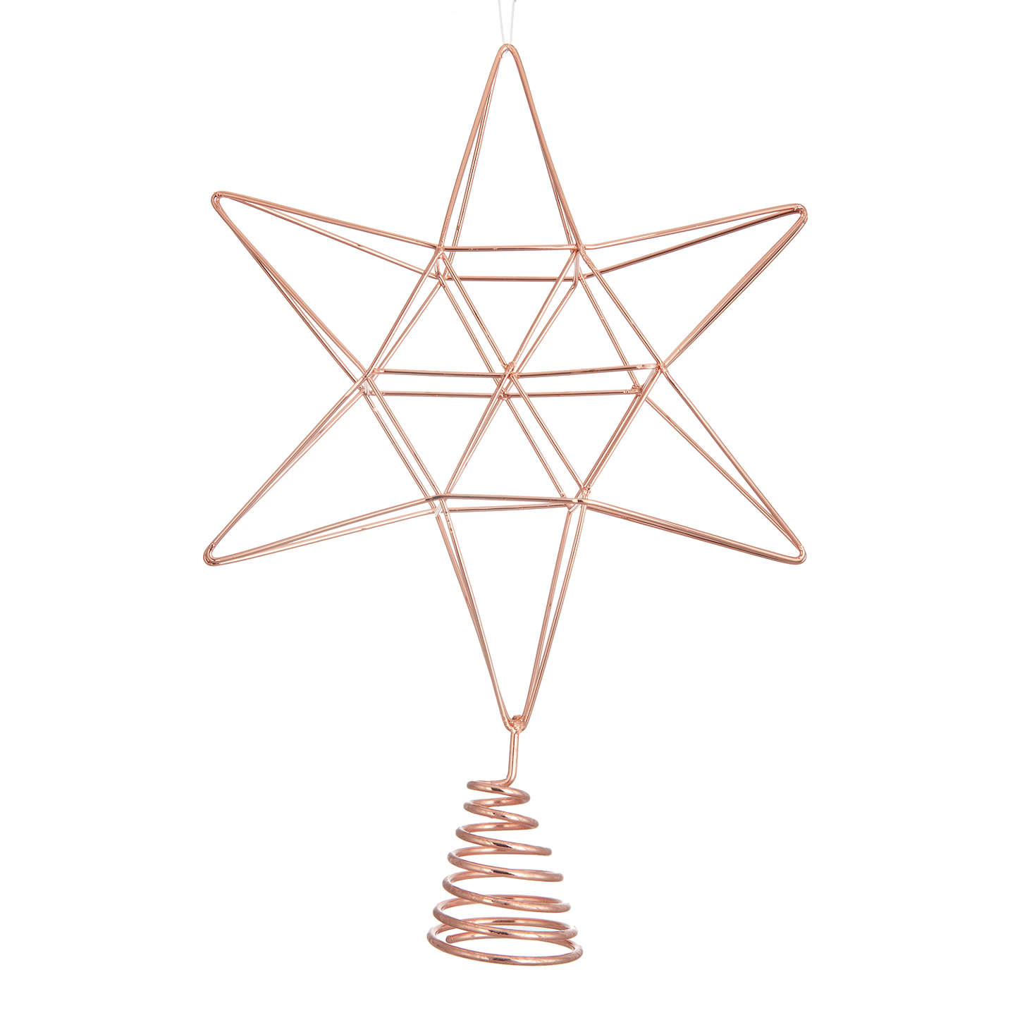Buyjohn Lewis Mitsuko Copper Wire Tree Topper Online At Johnlewiscom