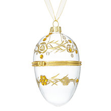 Buy John Lewis Winter Palace Locket Bauble with Gems Online at johnlewis.com