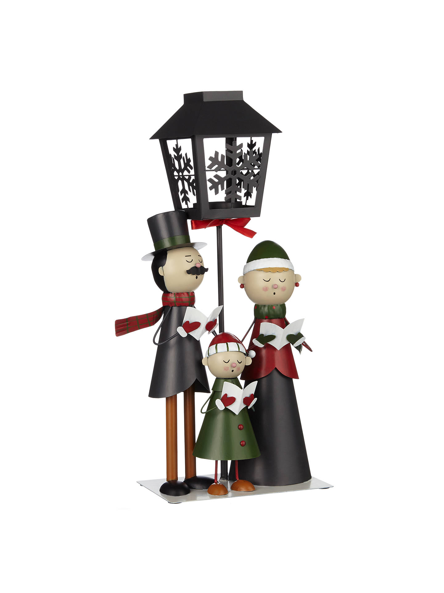 Christmas Carol Singers Ornaments.John Lewis Carol Singers Tealight Holder At John Lewis