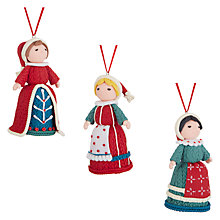 Buy John Lewis Folklore Claydough Lady Online at johnlewis.com