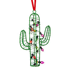 Buy John Lewis Lima Llama Jolly Wire Cactus Online at johnlewis.com