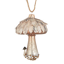 Buy John Lewis Highland Myths Mushroom Bauble Online at johnlewis.com