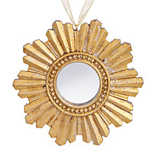 Buy John Lewis Winter Palace Mirror Starburst Tree Decoration Online at johnlewis.com