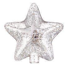 Buy John Lewis Winter Palace Glass Star Tree Topper Online at johnlewis.com
