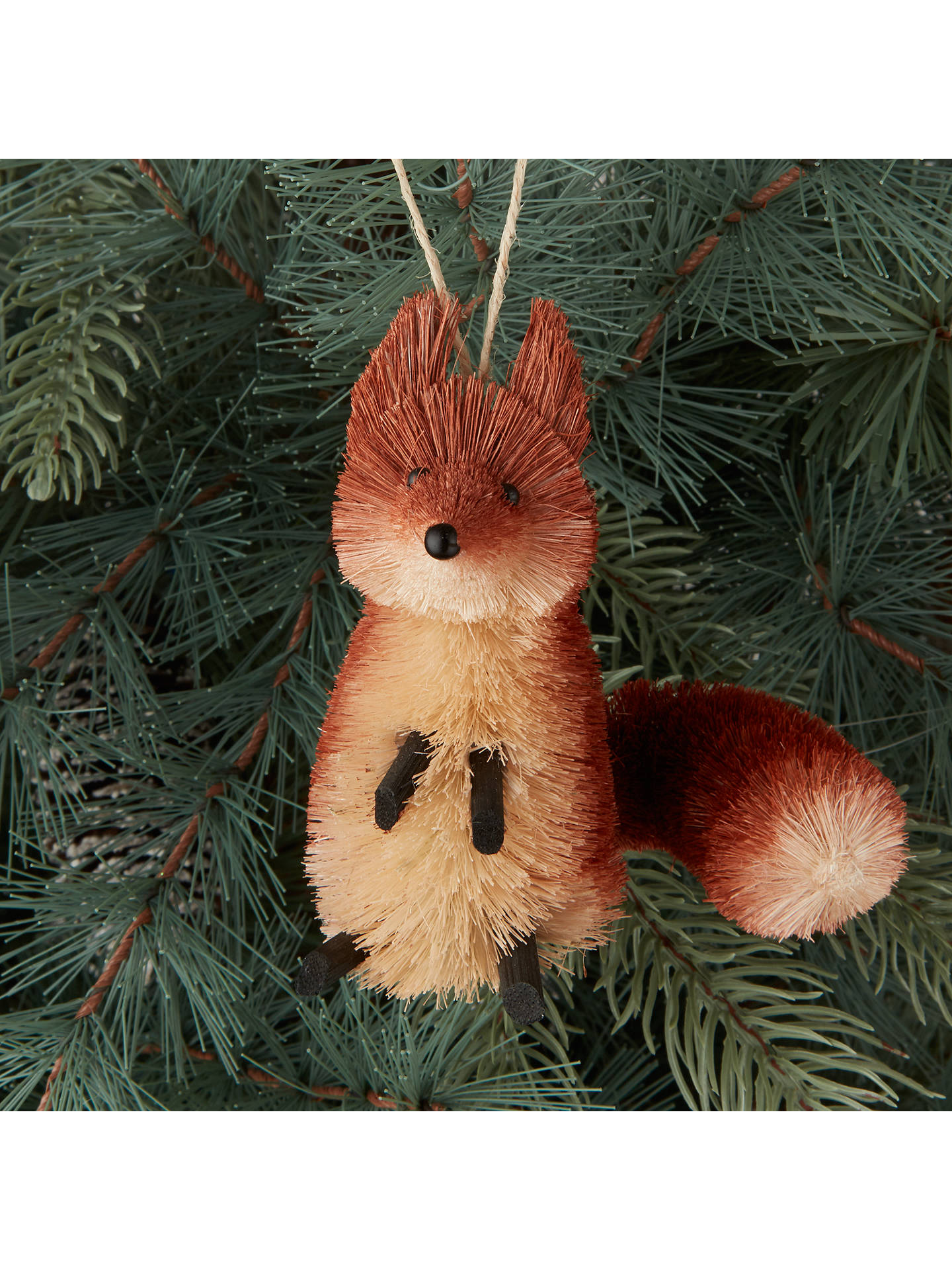 BuyJohn Lewis & Partners Highland Myths Hamish Fox Tree Decoration Online at johnlewis.com