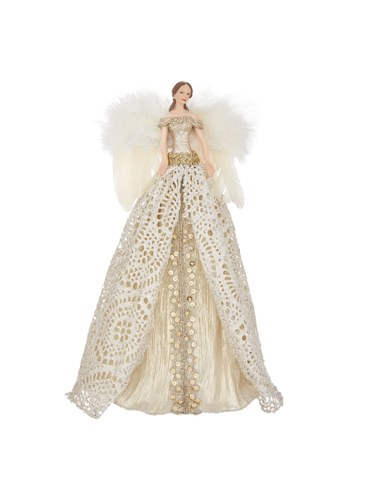 John Lewis Into the Woods Victoria Angel Tree Topper at John Lewis ...