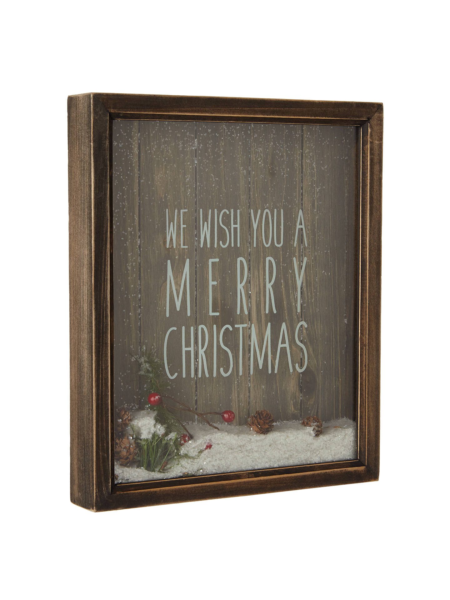 buyjohn lewis merry christmas sign online at johnlewiscom