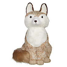 Buy John Lewis Highland Myths Festive Fox Room Decoration Online at johnlewis.com