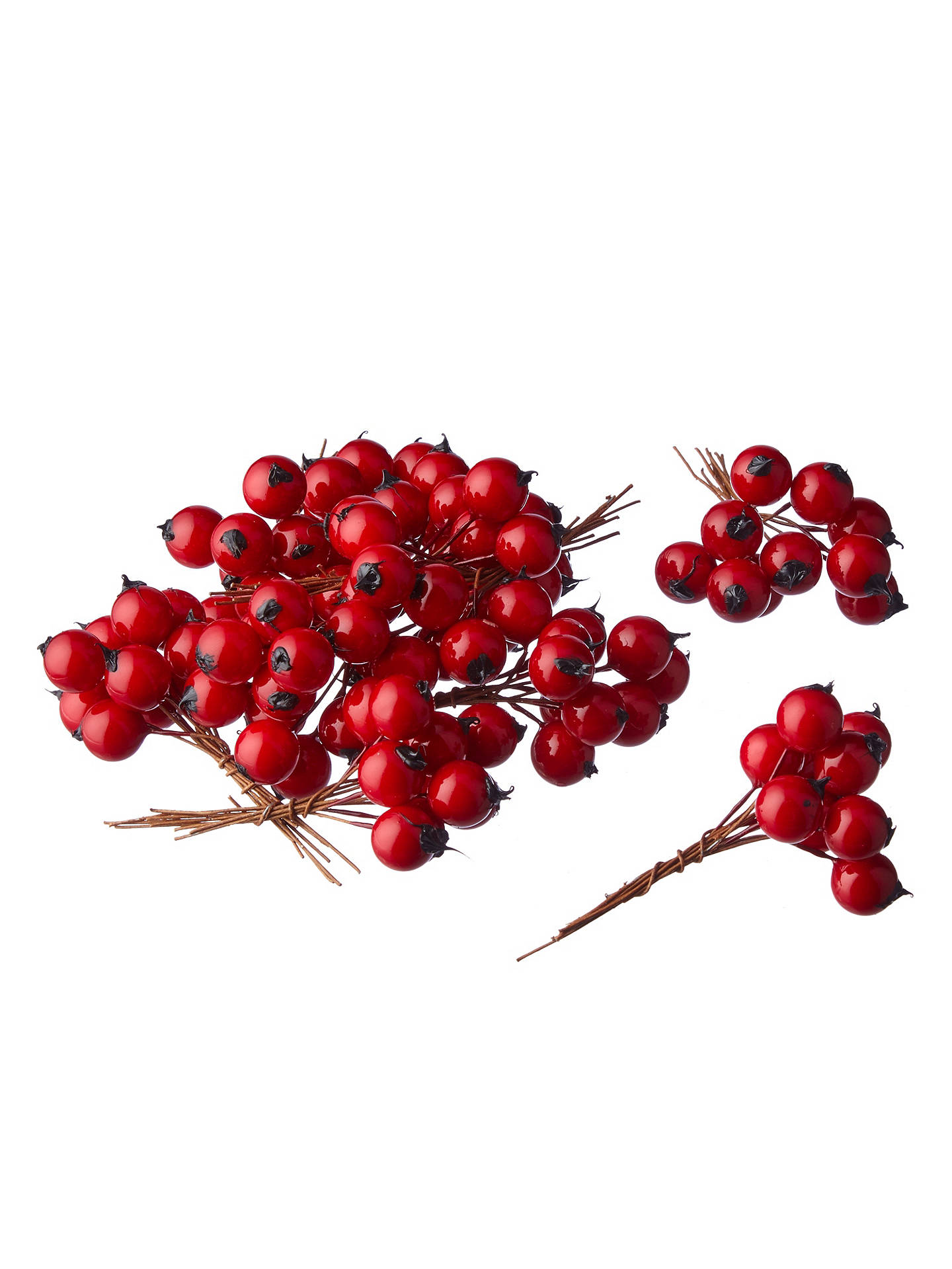 Buy John Lewis Red Berry Pick, Pack of 10 Online at johnlewis.com
