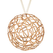 Buy John Lewis Mitsuko Golden Weave Bauble Online at johnlewis.com