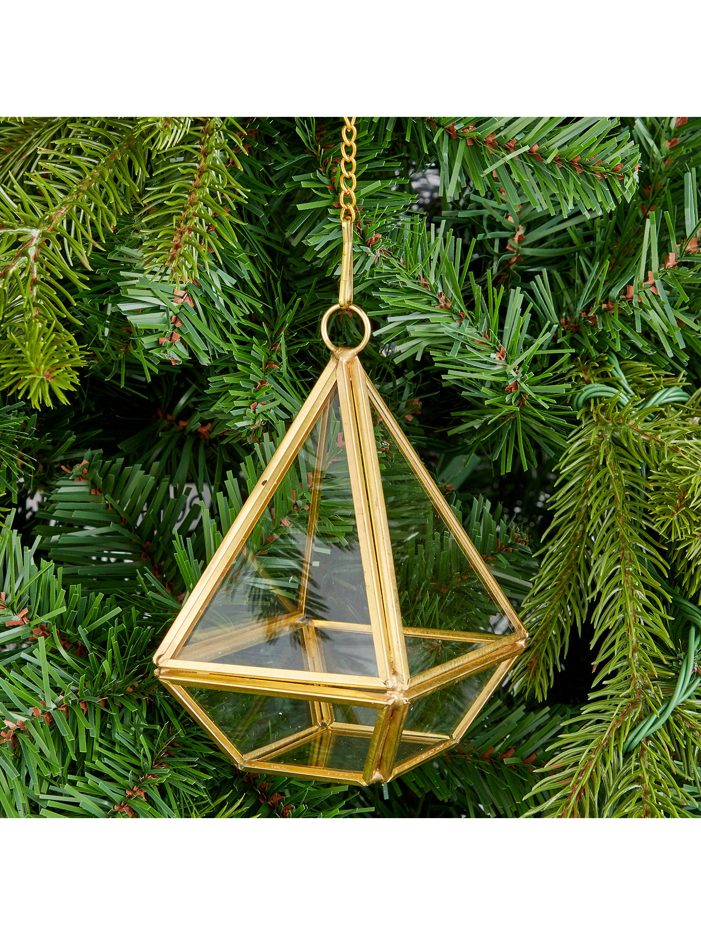 John Lewis Christmas Tree Decorations.John Lewis Into The Woods Terrarium Tree Decoration At John