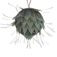 Buy John Lewis Into the Woods Feather Flower Tree Decoration Online at johnlewis.com