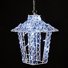 Buy John Lewis LED Acrylic Crystal Hanging Lantern Online at johnlewis.com