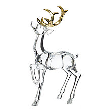 Buy John Lewis Winter Palace Acrylic Reindeer Online at johnlewis.com