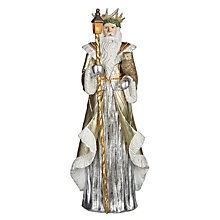 Buy John Lewis Winter Palace St Nicholas Figure, Large Online at johnlewis.com