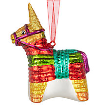Buy John Lewis Lima Llama Pinata Bauble Online at johnlewis.com