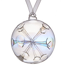 Buy John Lewis Mitsuko Iridescent Sputnik Bauble Online at johnlewis.com
