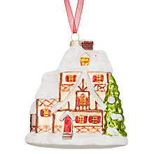 Buy John Lewis Folklore Woodland House Bauble Online at johnlewis.com