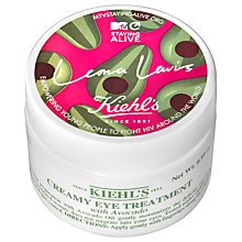 Buy Kiehl's MTV Staying Alive Foundation Limited Edition Creamy Eye Treatment with Avocado, 28ml Online at johnlewis.com