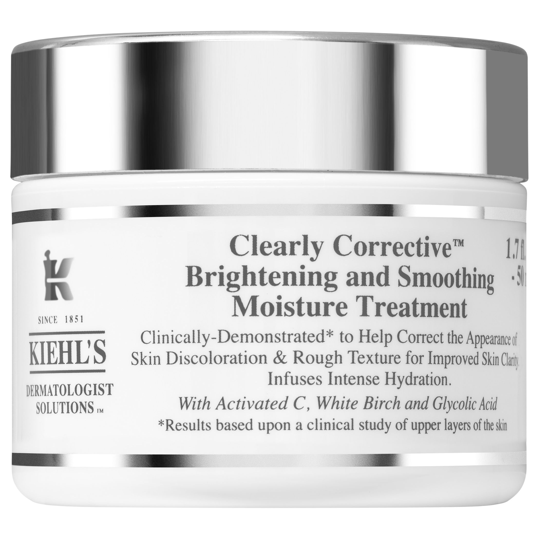 Kiehls Kiehl's Clearly Corrective Brightening & Smoothing Moisture Treatment, 50ml