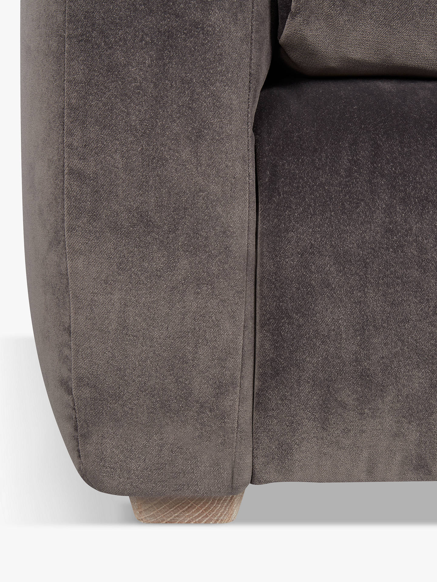 Buy Floppy Jo Snuggler by Loaf at John Lewis, Clever Velvet Steel Online at johnlewis.com