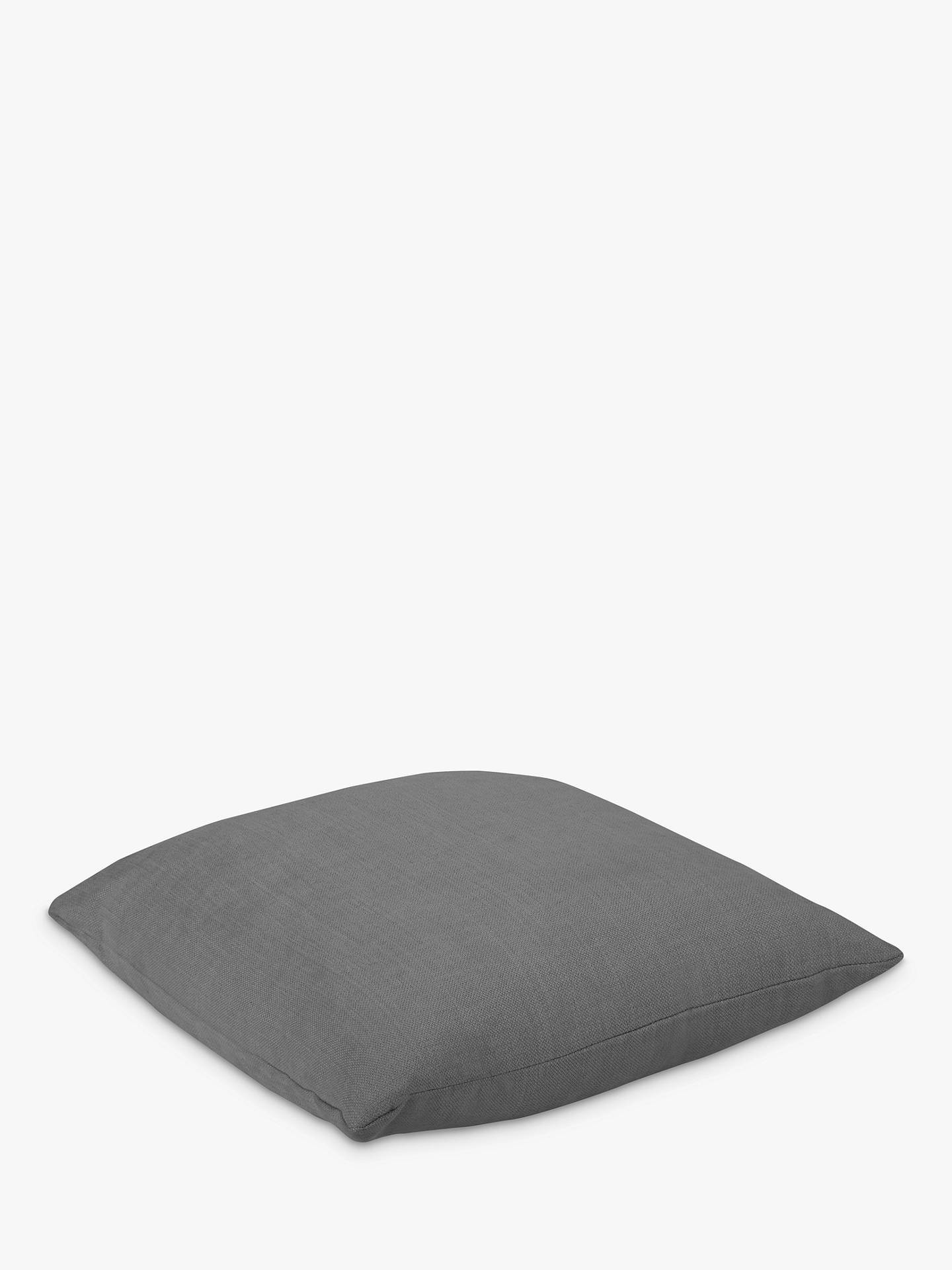 BuySquare Scatter Cushion by Loaf at John Lewis, Clever Linen Meteor Grey Online at johnlewis.com