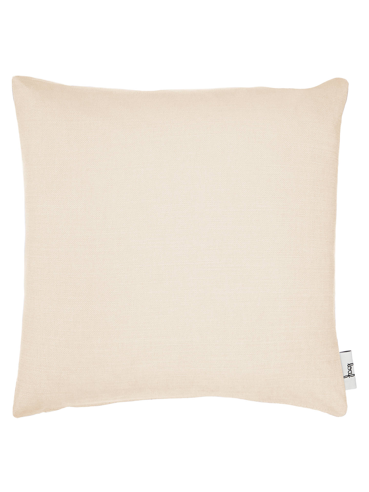 BuySquare Scatter Cushion by Loaf at John Lewis, Clever Linen Pale Rope Online at johnlewis.com