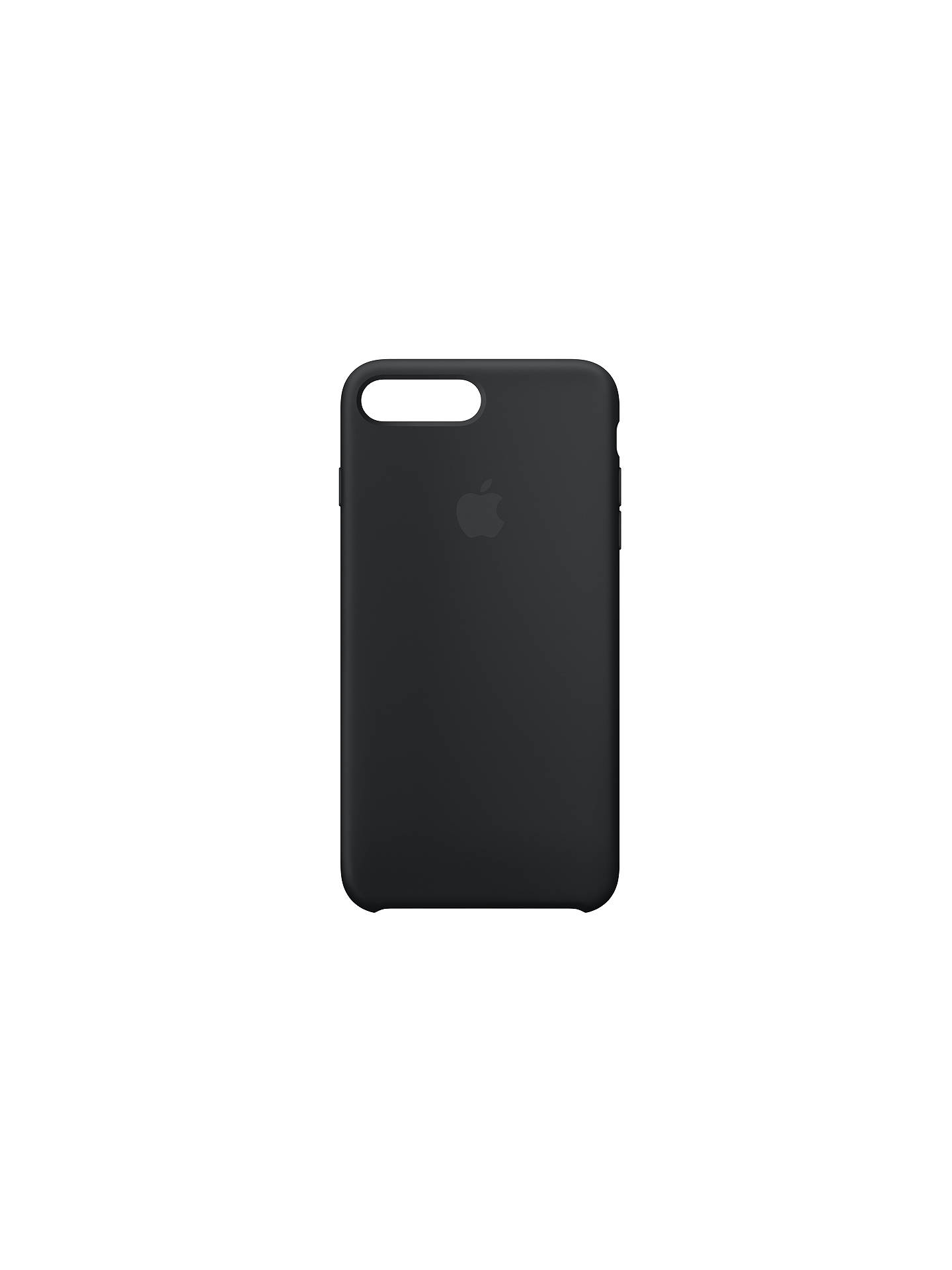 BuyApple Silicone Case for iPhone 8 Plus, Black Online at johnlewis.com