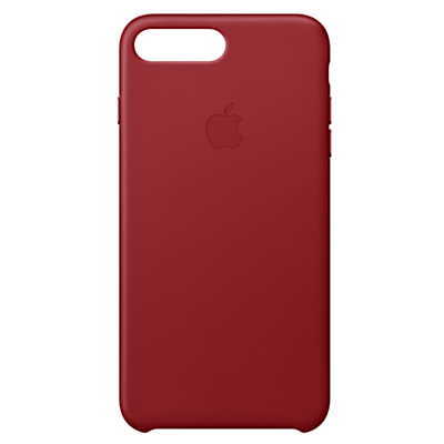 Image of Apple Leather Case for iPhone 8 Plus