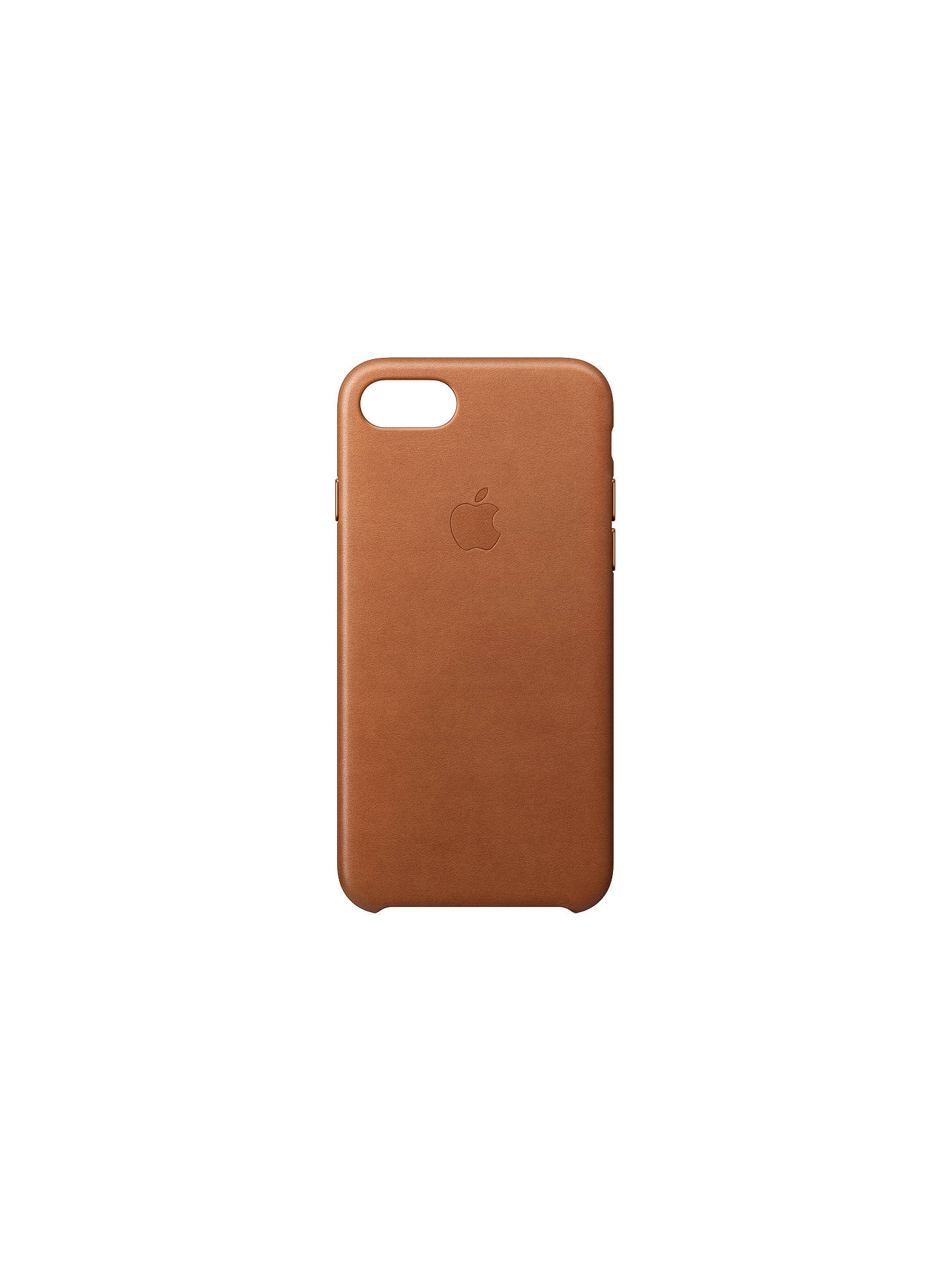 Buy Apple Leather Case for iPhone 7 / 8 / SE (2020), Saddle Brown Online at johnlewis.com