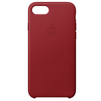 Image of Apple Leather Case for iPhone 8